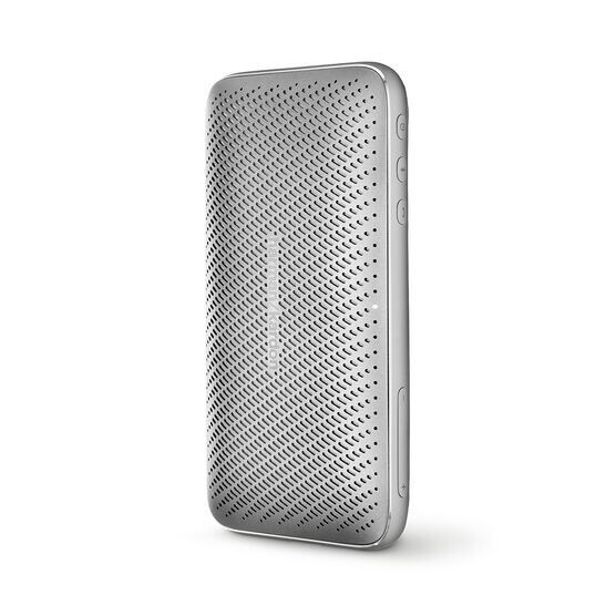 Harman Kardon Esquire Mini 2 - Silver - Ultra-slim and portable premium Bluetooth Speaker - Detailshot 2