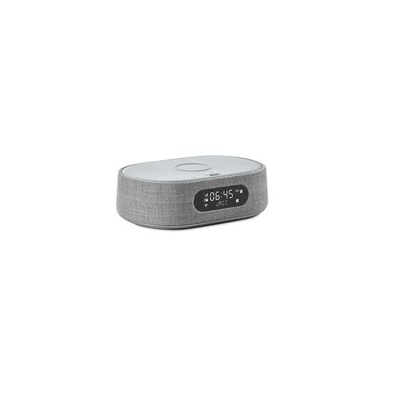 Harman Kardon Citation Oasis - Grey - Voice-controlled speaker with DAB/DAB+ radio and wireless phone charging - Hero
