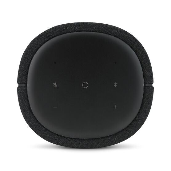 Harman Kardon Citation 100 MKII - Black - Bring rich wireless sound to any space with the smart and compact Harman Kardon Citation 100 mkII. Its innovative features include AirPlay, Chromecast built-in and the Google Assistant. - Detailshot 2
