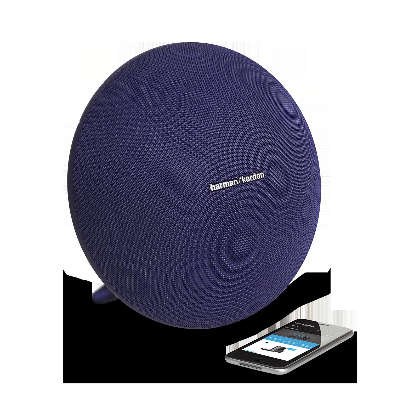 Onyx Studio 3 - Blue - Portable Bluetooth Speaker - Detailshot 1