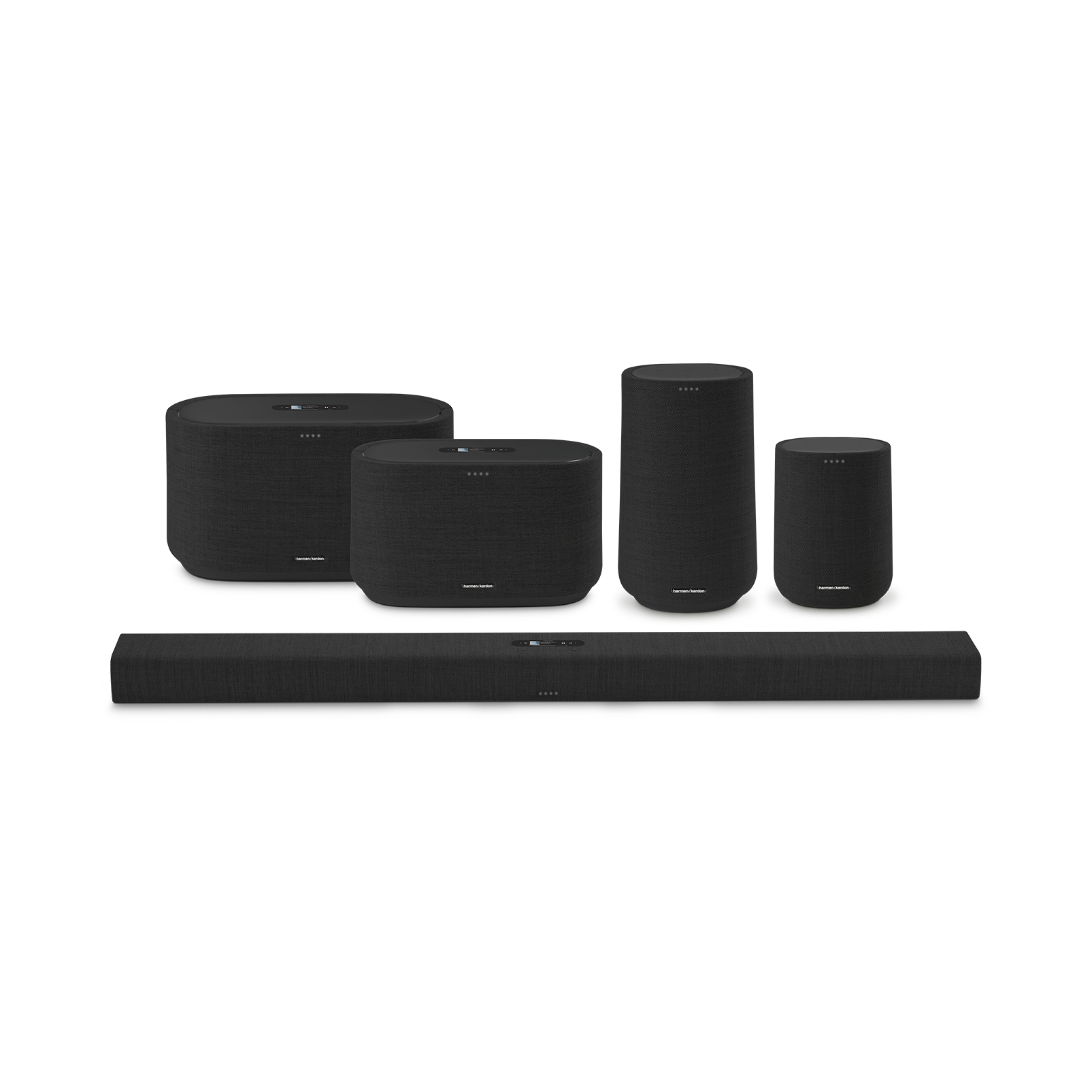 Harman Kardon Citation 300 - Black - The medium-size smart home speaker with award winning design - Detailshot 5